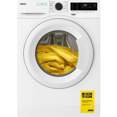 Máquina de Lavar Roupa ZANUSSI ZWF922E4W2 de Livre Instalação Entrada Frontal 9 Kg 1200 RPM Branco - 7332543783397