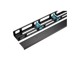 WP RACK 42U 2 Pcs Vertical Cable Management Kit with Rings and Cap for RNA and RSB 800 mm Wide Rack - 8056045875730