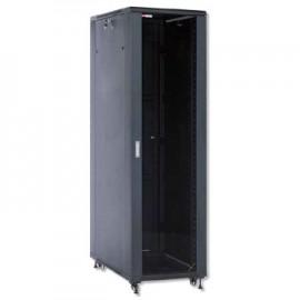 "Bastidor De Chao Serie RNA Network WP RACK 19"" 22U 600x800mm Mounted. Black RAL 9005 - 8056045871244"