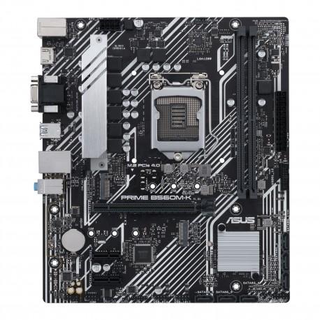 MB ASUS PRIME B560M-K. SK LGA1200 2DDR4 VGA/HDMI MATX - 4711081112082