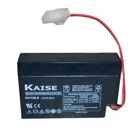 KAISE KB1208 Bateria 12 V 0,8 Ah - 0385401000042