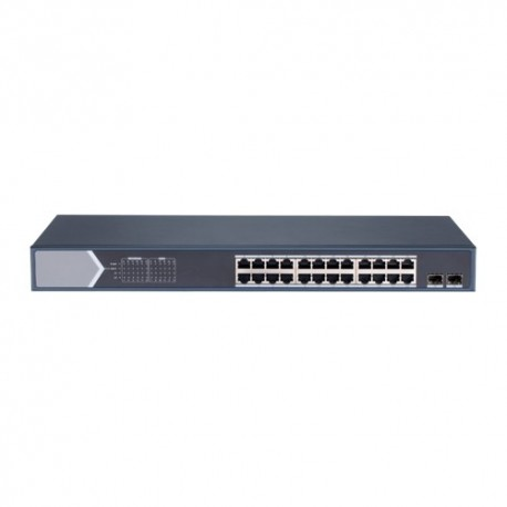 Safire SF-SW2624POE-MGF-370 Switch PoE 24 Portas PoE + 2 Gigabit SFP 10/100/1000 Mbps 30 W por Porta - 8435325452920