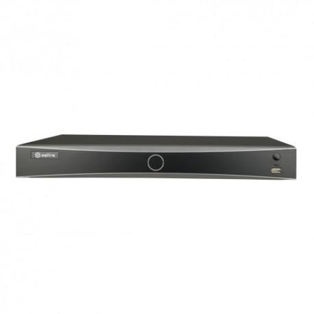 Safire SF-NVR8208-4FACE Gravador NVR com Reconhecimento Facial 8 CH video Resoluçao maxima 12 Mpx - 8435325453989