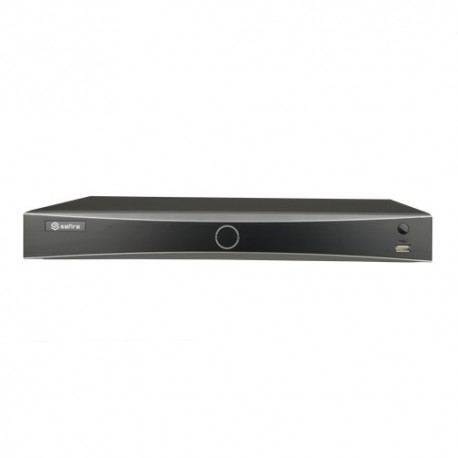 Safire SF-NVR8208-8P-4FACE Gravador NVR com Reconhecimento Facial 8 CH video Resoluçao maxima 12 Mpx - 8435325454016