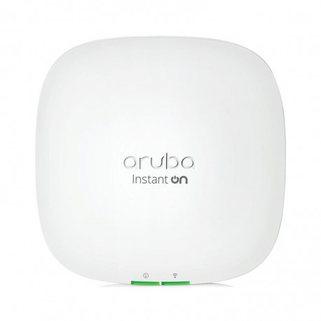 Hewlett Packard Enterprise Instant On AP22 (RW) 1774 Mbit/s Branco Power over Ethernet (PoE) Aruba Instant On AP22 WiFi 6 Access Point W/o AC Adapter