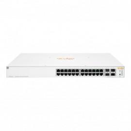 Hewlett Packard Enterprise Aruba Instant On 1930 Gerido L2+ Gigabit Ethernet (10/100/1000) Power over Ethernet (PoE) 1U Branco