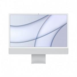 APPLE iMac 24P Retina 4.5K Apple M1 Chip with 8 Core CPU and 8 Core GPU 256GB Silver - 0194252122549