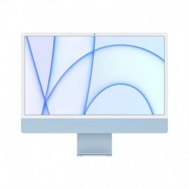 APPLE iMac 24P Retina 4.5K Apple M1 Chip with 8 Core CPU and 8 Core GPU 256GB Blue - 0194252125182