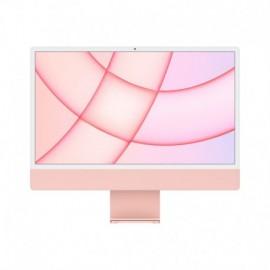 APPLE iMac 24P Retina 4.5K Apple M1 Chip with 8 Core CPU and 8 Core GPU 256GB Pink - 0194252126066