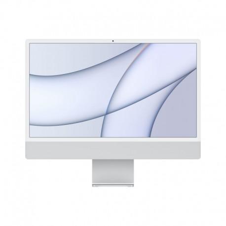 APPLE iMac 24P Retina 4.5K Apple M1 Chip with 8 Core CPU and 7 Core GPU 256GB Silver - 0194252128848