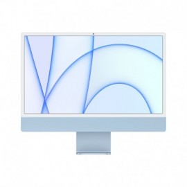 APPLE iMac 24P Retina 4.5K Apple M1 Chip with 8 Core CPU and 7 Core GPU 256GB Blue - 0194252440421