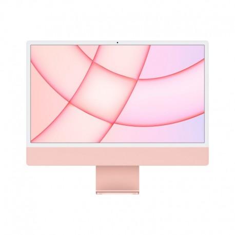 APPLE iMac 24P Retina 4.5K Apple M1 Chip with 8 Core CPU and 7 Core GPU 256GB Pink - 0194252440865