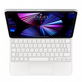 """APPLE Magic Keyboard for iPad Pro 11"""" 3rd Generation and iPad Air 4th Generation, PT, White - 0194252439111"""
