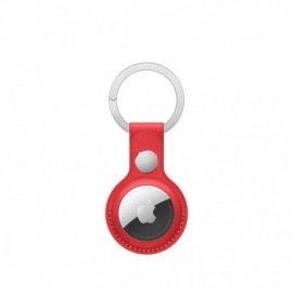 APPLE AirTag Leather Key Ring - Red - 0194252467572