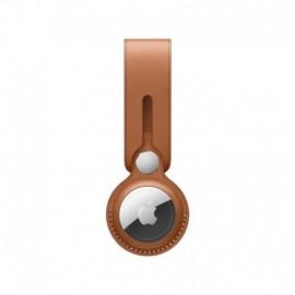 APPLE AirTag Leather Loop - Saddle Brown - 0190199314795