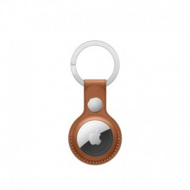 APPLE AirTag Leather Key Ring - Saddle Brown - 0190199314948