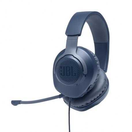 Auscultadores Gaming C/ Fio JBL Quantum 100 Over Ear BLUE - 6925281969645