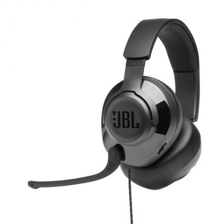 Auscultadores Gaming C/ Fio JBL Quantum 200 Over Ear BLACK - 6925281969546