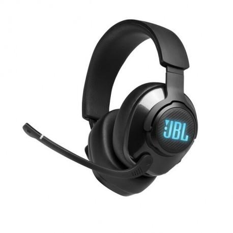 Auscultadores Gaming C/ Fio JBL Quantum 400 Over Ear BLACK - 6925281969683