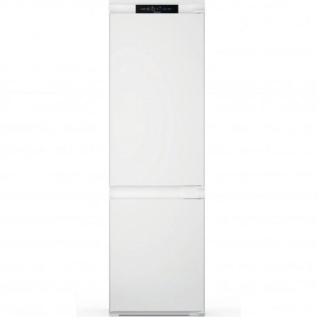 Indesit INC18 T311 Frigorífico Combinado de Encastre, No Frost, 177 cm, 236 L, Branco -