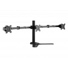 """Suporte EQUIP 17""""-27"""" Articulating Triple Monitor Tabletop - 650125 - 4015867222942"""