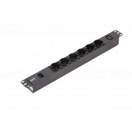 APC Easy PDU Basic 1U 10 A 230 V 6 Schuko & 1 C13 - 0731304424505