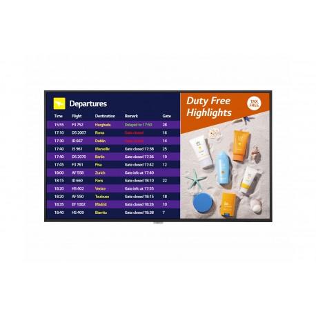 "Monitor Profissional LG Digital Signage 65UH7F-B.AEU 165,1 cm 65"" LCD 4K Ultra HD Preto - 8806098553686"