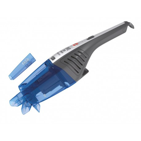 Hoover HJ72WDLB 011 JIVE RANGE, Mini Aspirador Portátil, 7.2 V Lithium, Sem bolsa, Seco e Molhado, 0,3 l / 0,1 l, Tecido, Azul - 8059019010458