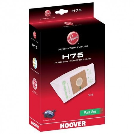 Embalagem Sacos Hoover P/ A Cubed Silence - H75 - 8016361896932