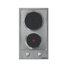 Placa Encastre Candy Elétrica 2 Zonas Inox - CDE 32 1 X - 8016361856738