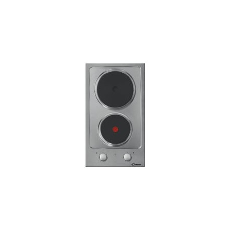 Placa Encastre Candy Elétrica 2 Zonas Inox - CDE 32/1 X - 8016361856738