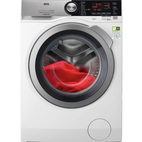 AEG L8FEC942Q Máquina de Lavar Roupa, de Livre Instalação, Entrada Frontal, 9 Kg, 1400 RPM, BRanco - 7332543798414