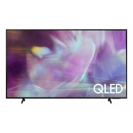 """TV QLED SAMSUNG Series 6 QE55Q60AAUXXC 138 cm 55"""" 4K Ultra HD Smart TV Wi-Fi Preto - 8806090985553"""
