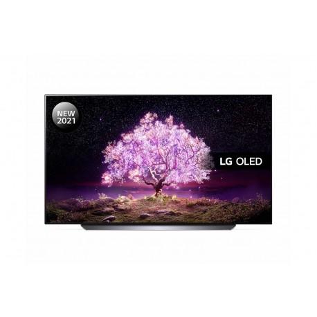 """TV OLED LG OLED77C14LB 195 cm 77"""" 4K Ultra HD Smart TV Wi-Fi Preto - 8806091153517"""