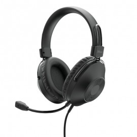 Auriculares Trust Hs-250 Con Micrófono Usb Negros - 8713439241853