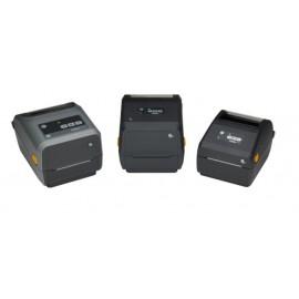 Zebra ZD421 Impressora de Etiquetas, Transferência Térmica, 203 x 203 DPI, USB/Ethernet, Com e Sem Fios, Cinzento - ZD4A042-30EM00EZ