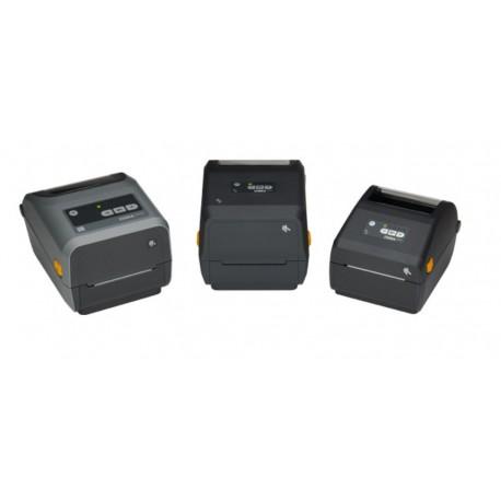 Zebra ZD421 Impressora de Etiquetas, Acionamento Direto, Transferência Térmica, 203 x 203 DPI, USB/Ethernet, Com e Sem Fios, Cinzento - ZD4A042-D0EM00EZ