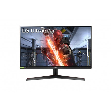 """LG 27GN800-B Monitor, LED, 27"""", 68,6 cm, Quad HD, 144 Hz, 1 ms, Free Sync, G-Sync, Preto, Vermelho - 8806091068651"""