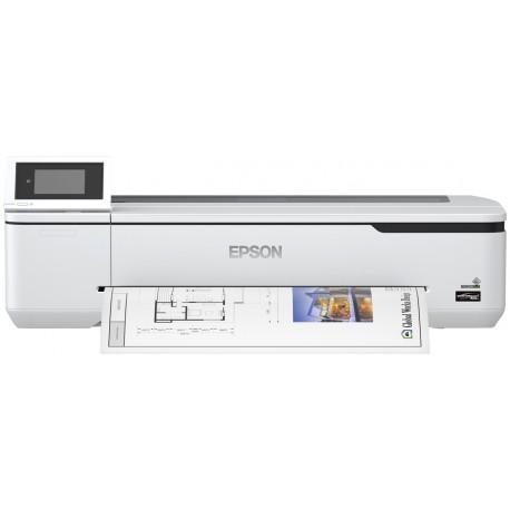 Epson SureColor SC-T2100 Impressora de Grande Formato Plotter Wi-Fi Cor 2400 x 1200 DPI A1 (594 x 841 mm) Ethernet LAN Branco - 8715946688824