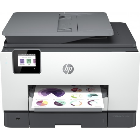 HP OfficeJet Pro 9022e Jato de Tinta A4 Cores 4800 x 1200 DPI 24 ppm Wi-Fi Branco - 0195161213526