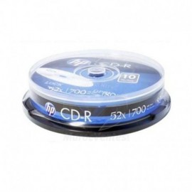 HP CRE00019-3 CD-R 52x, 700 MB, 80 min, Torre 10 Unidade(s) - 4710212129333