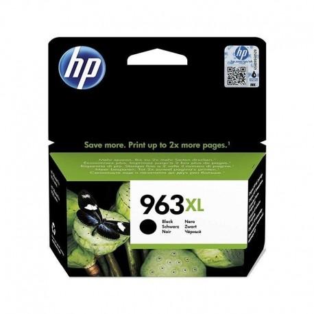 HP Tinteiro Original 963XL Preto de Elevado Rendimento, Alta Capacidade, Rendimento Alto (XL), Cartucho de Tinta - 0192545866637