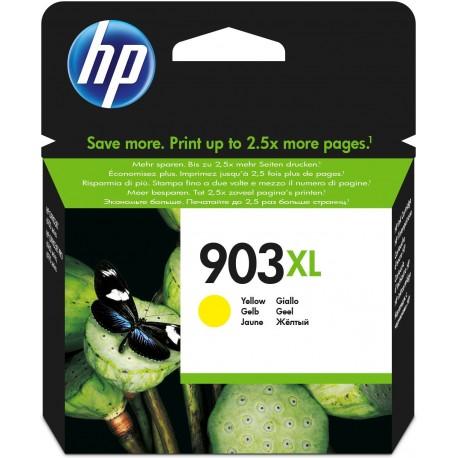 HP Tinteiro Original 903XL Amarelo de Elevado Rendimento, Cartucho de Tinta XL Alta Capacidade - 0889894728975