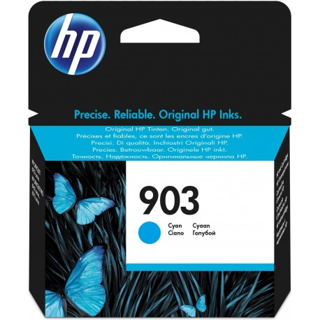 HP Tinteiro Original 903 Ciano, Cartucho de Tinta - 0889894728784