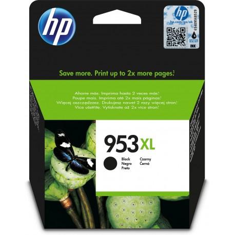 HP Tinteiro Original 953XL Preto de Elevado Rendimento, Alta Capacidade, Cartucho de Tinta - 0725184104183