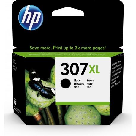 HP Tinteiro Original 307XL Preto de Elevado Rendimento, Alta Capacidade, Rendimento Alto (XL), Cartucho de Tinta - 0193905429332