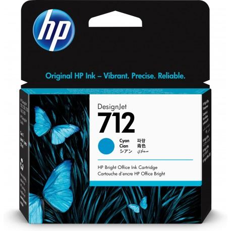 HP Tinteiro DesignJet 72 Original Ciano de 29 ml, Cartucho de Tinta - 0193905352814