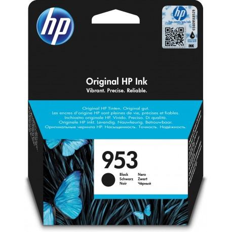 HP Tinteiro Original 953 Preto, Cartucho de Tinta - 0725184104077
