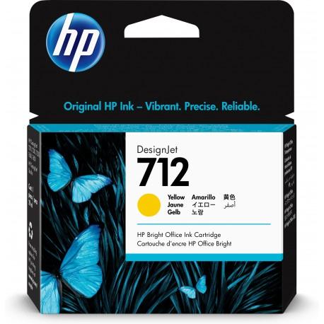 HP Tinteiro DesignJet 72 Original Amarelo de 29 ml, Cartucho de Tinta - 0193905352838