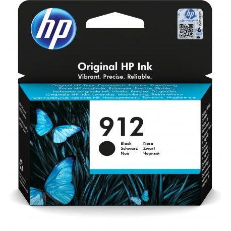 HP Tinteiro Original 912 Preto, Cartucho de Tinta - 0192545866835